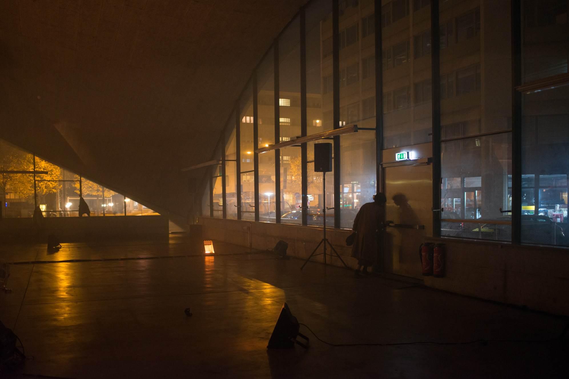 Tissues I: A Prologue, performance view, Pavillon Sicli, 2018