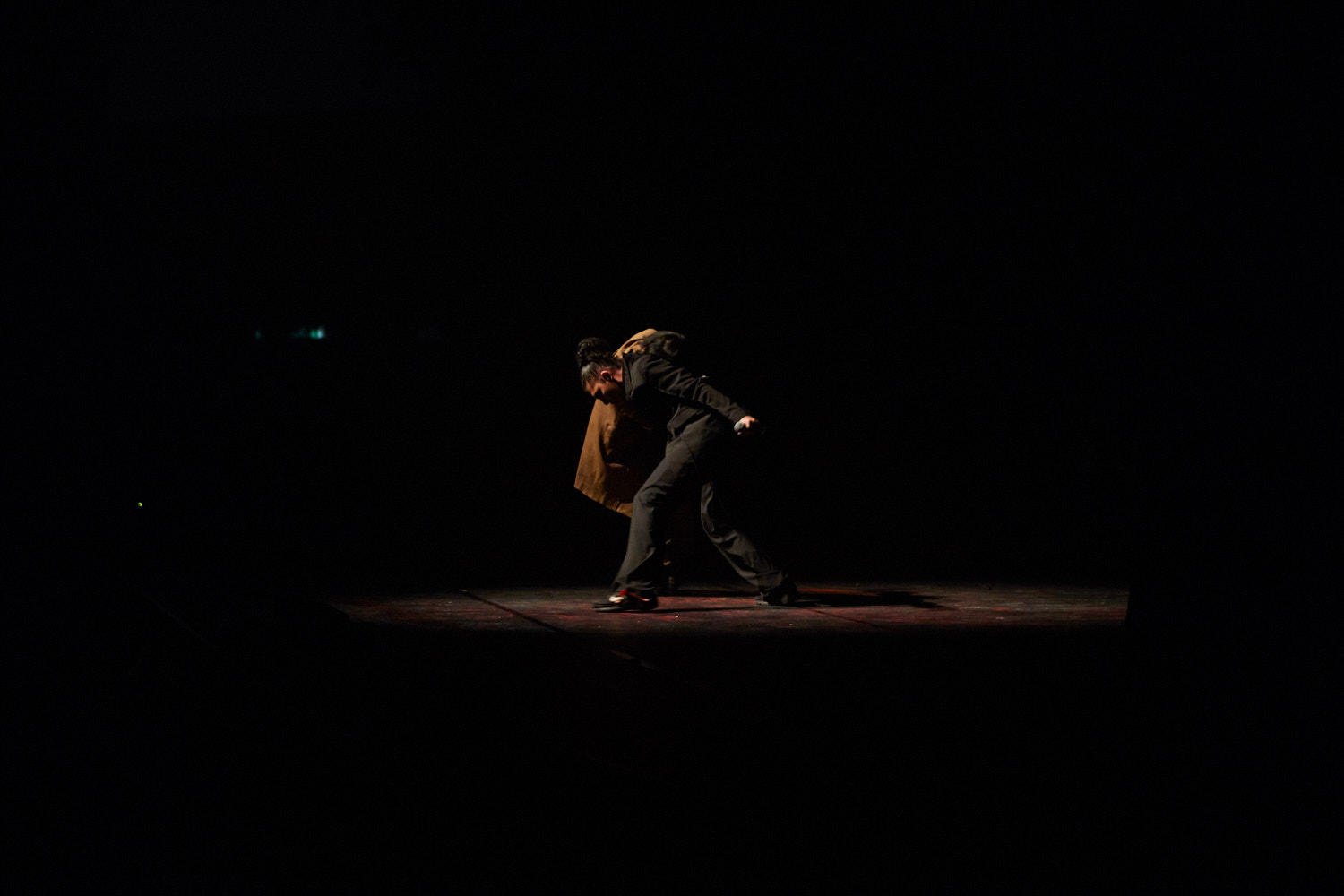 Fist Piece, performance view, Barbican Centre, 2018