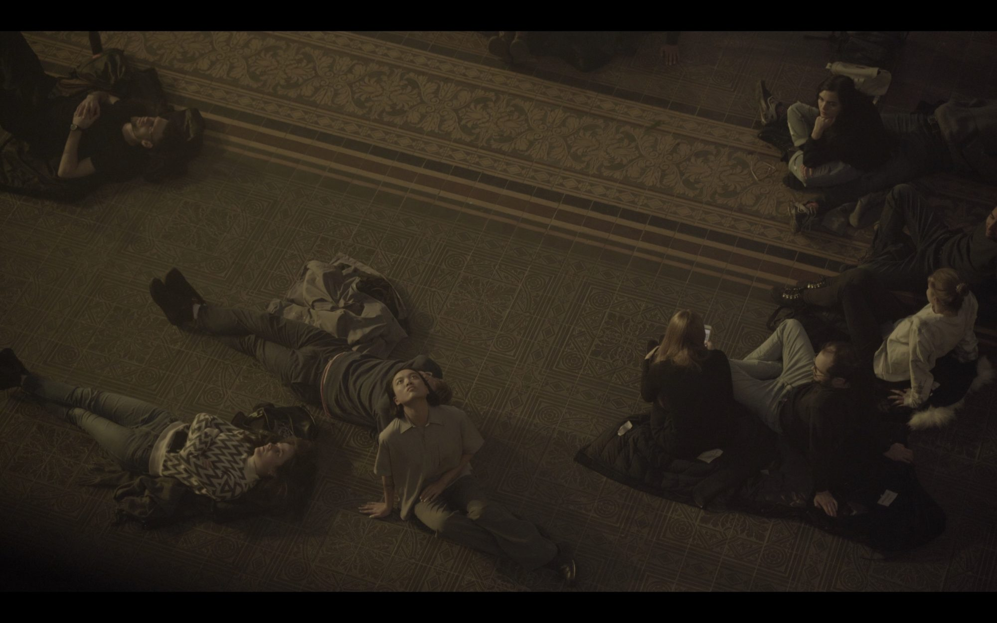 Dead Time Blue, footage still, Martin Gropius Bau, 2020